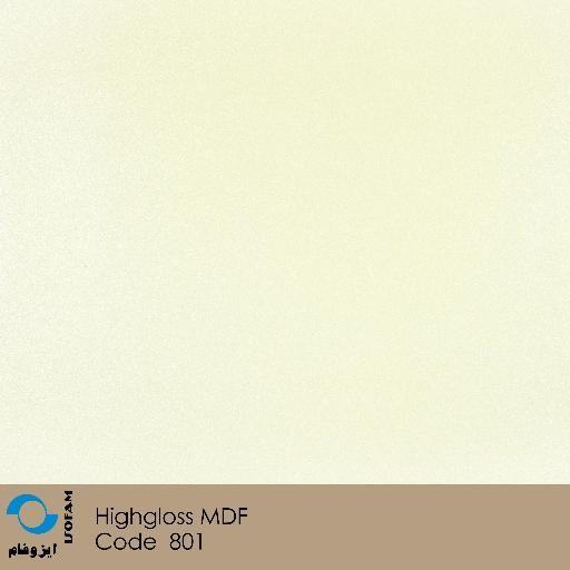ورق هایگلاس ایزوفام سفید متالیک