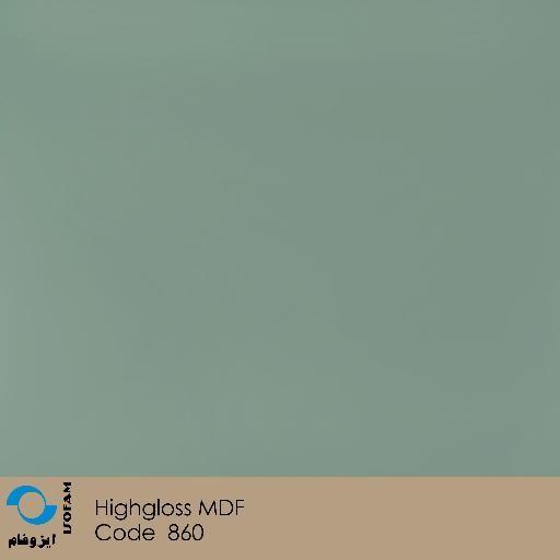 ورق هایگلاس ایزوفام آبی